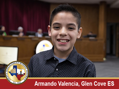 President's Award recipient Glen Cove ES fifth-grader honored for his kindness