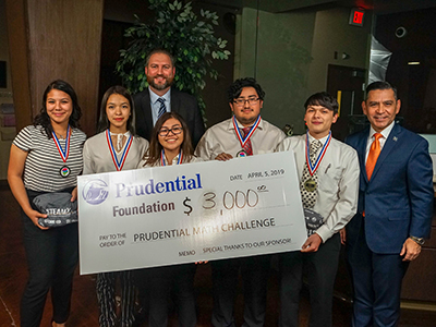 Riverside HS students win Prudential Math Challenge