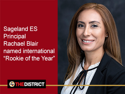 YISD principal named international 'Rookie of the Year'
