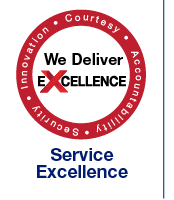 Service Excellence Webpage