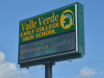 U.S. News & World Report: Valle Verde ECHS top-ranked school in EP