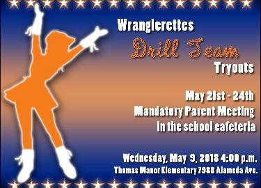Wranglerettes Drill Team Tryouts