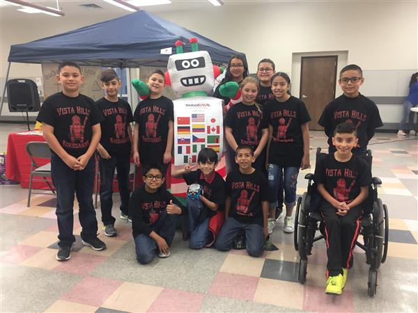Vista Hills Robosaders compete at RoboRave Ft. Bliss