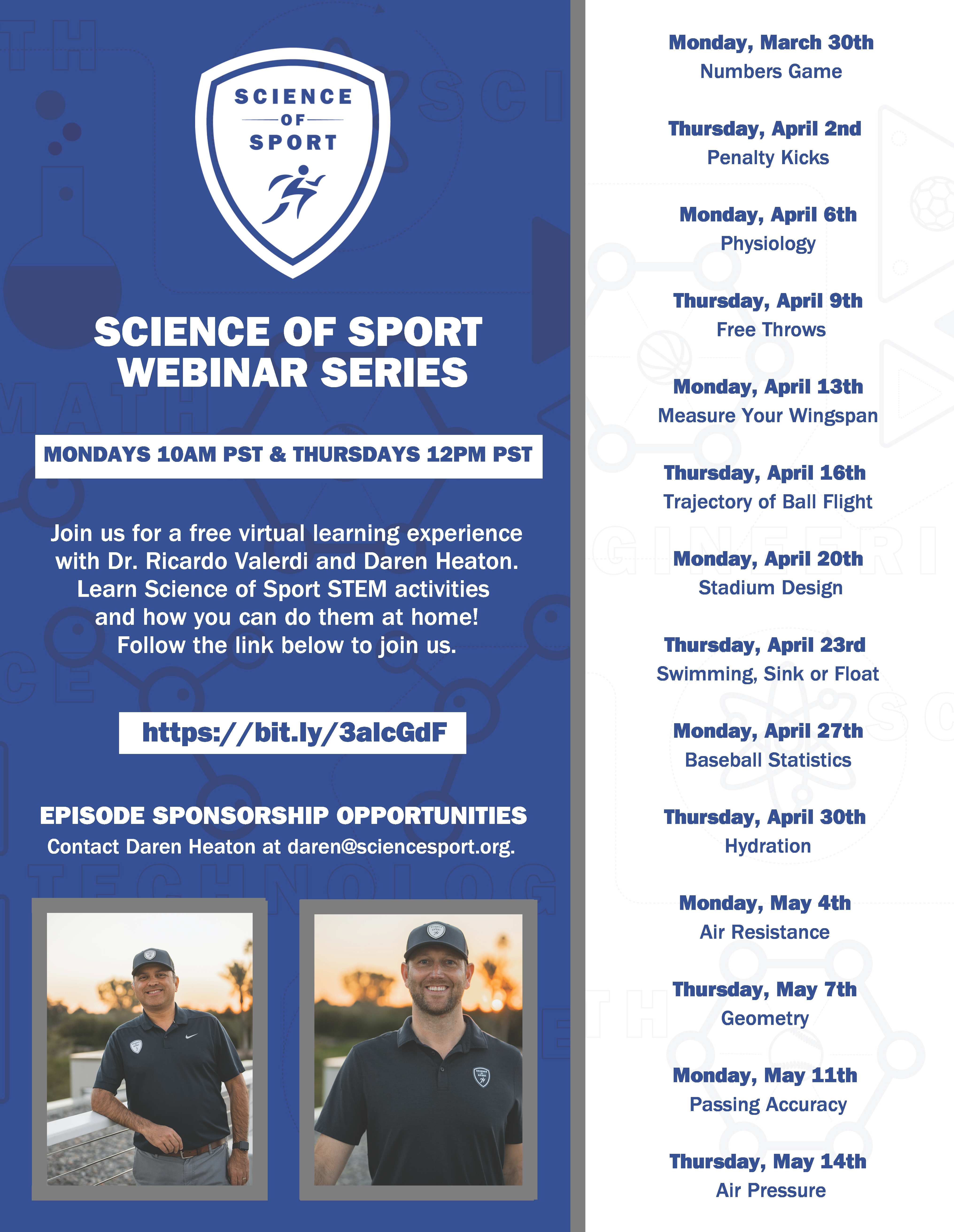 Science of Sport Webinar Series