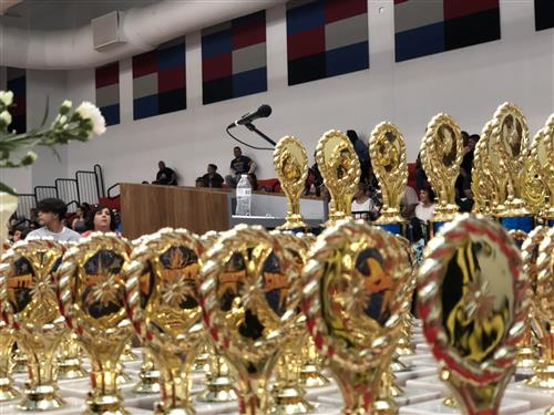Awards Angle Shot