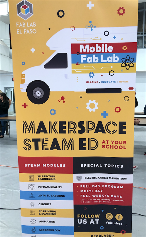 Maker Space STEAM Education Poster