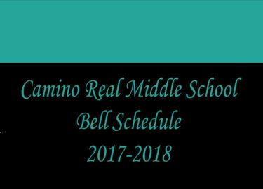 CRMS Bell Schedule 2017-2018