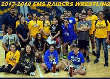 EMS Wins 7th Grade Boys and Girls District Wrestling Championship!!!