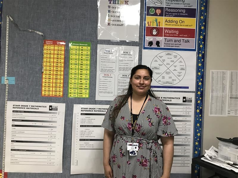 Faculty Member of the Month: Luz Aguayo