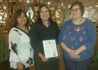 Congratulations to Ms. Mireya Perez, recipient of the Daughters of the Texas Republic Teacher of the Year Award