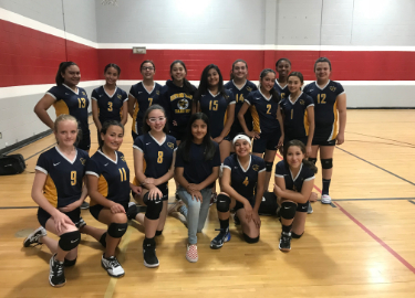 7th Grade Volleyball Season