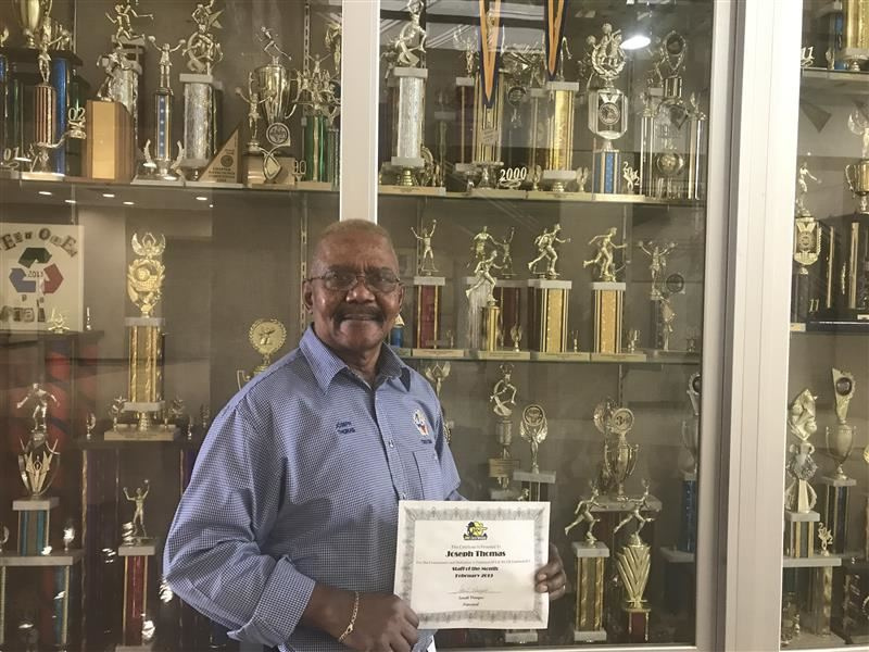 Staff Member of the Month: Mr. Joseph Thomas