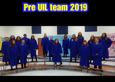 Congratulations UIL Raider Choir