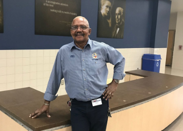 Mr. Thomas: Staff Member of the Month