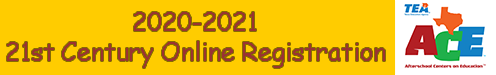 20-21 21st Century Aftershool online Registration