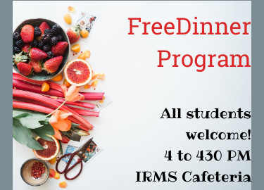 Free Dinner for all students