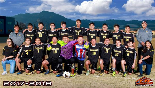 8th Boy's Soccer District Champions