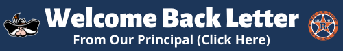 Welcome Back Letter from our Principal Click Here
