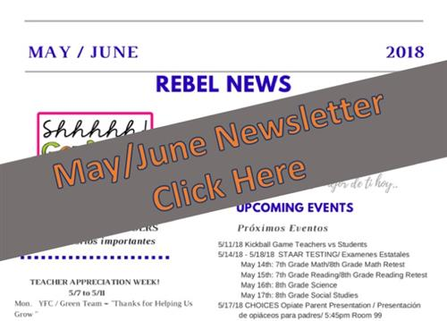 May June Newsletter Graphic