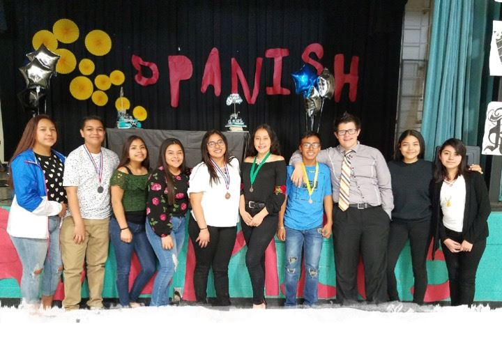 RMS UIL Spanish Team Photo