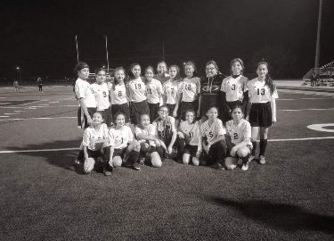 VVMS 7th grade girls soccer team, District Champs!