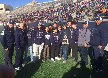 VVMS 7th grade football Champs! (8-0)
