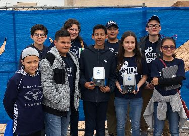Valley View Robo Giants take 1st Place at Eastwood tournament.