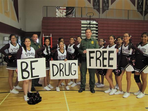Braves Drug Free Pep Rally