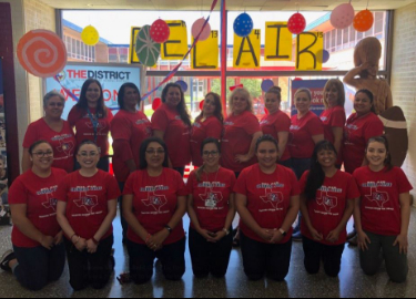 Big Red loves our Office Staff!