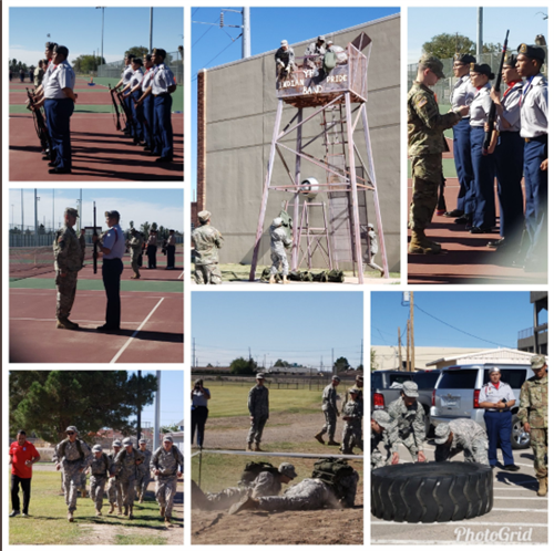 ROTC District Drill meet