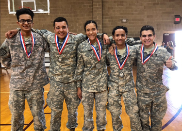 JROTC District Drill meet
