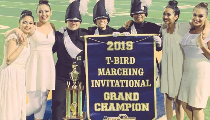 2019 Grand Champions at the TBird Invitational