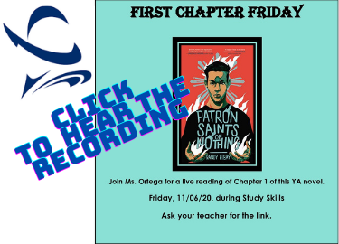 First Chapter Friday