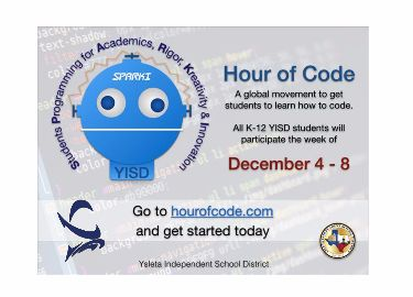 Del Valle Conducts Hour of Code