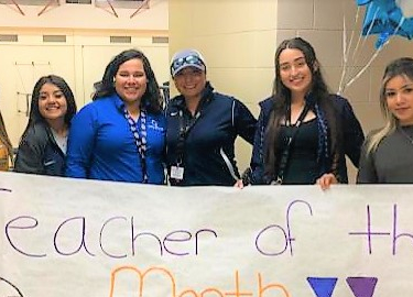 Ms. Rodriguez, March Teacher of the Month
