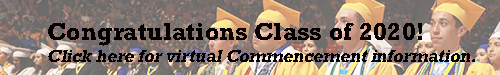 EHS Commencement information Click Here