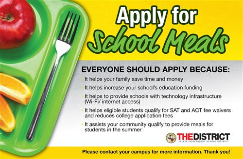 Apply for School Meals