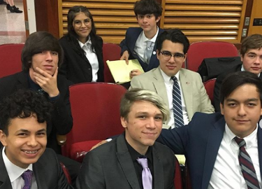 Speech & Debate Competition at Ysleta High School