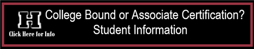 College Bound or Associate Certification Student Information