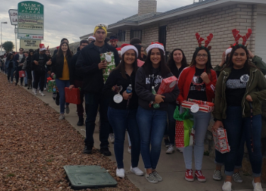 2018 Hanks Christmas Gift Giving @Vista Hills Elementary