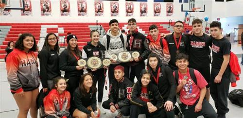 Hanks Girls and Boys Wrestling