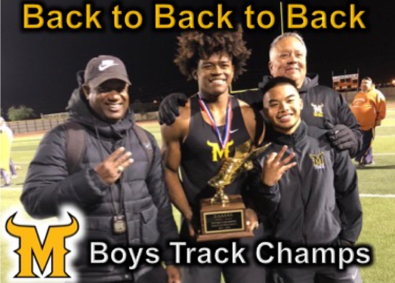 Boys Track Champs