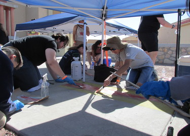 Chalk Festival at Riverside