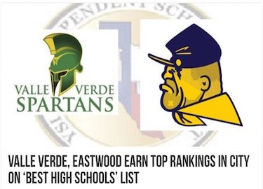Valle Verde Ranked 70th in Texas and 453rd in the nation,