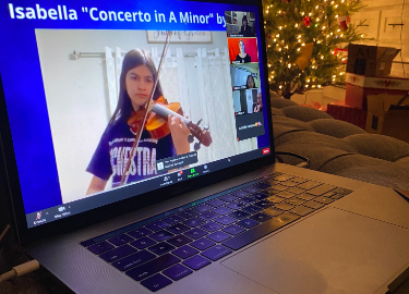 virtual orchestra concert