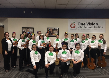 YWLA Mariachi and Folklorico at the Dia De Los Muertos Festival on October 26 at the YISD Central Office