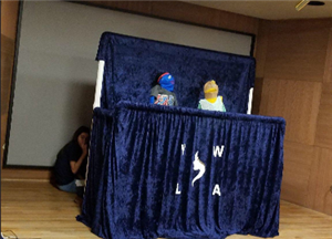 Puppet Show at El Paso Public Library
