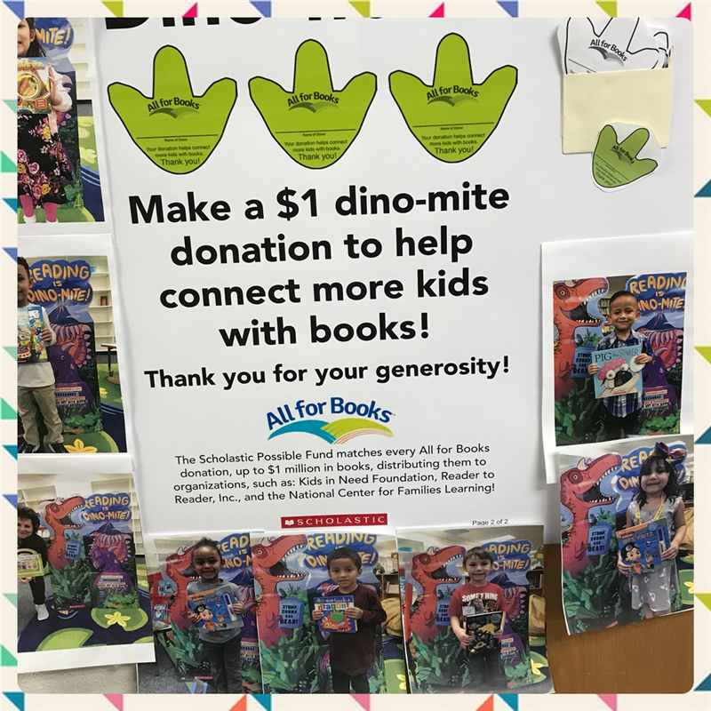 Scholastic Book Fair Supports Literacy