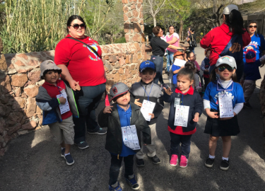 Ysleta Pre-K goes to the Zoo!