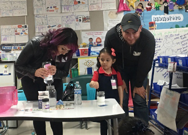 Thank you to parents and families for your support during the Science Week!